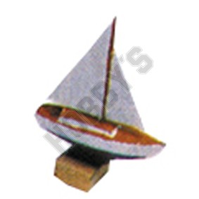 Toy Sailing Boat - Metal Miniature