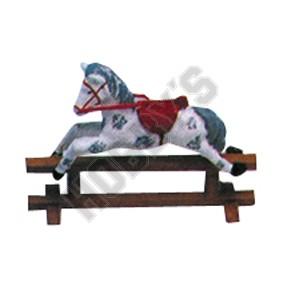 Rocking Horse - Metal Miniature