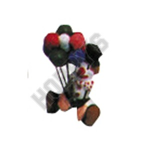 Clown Balloons - Metal Miniature