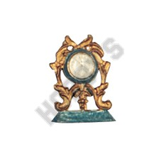 Ornamental Clock - Metal Miniature