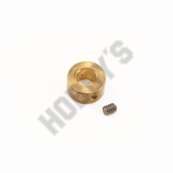 Brass Collars - 4mm Bore