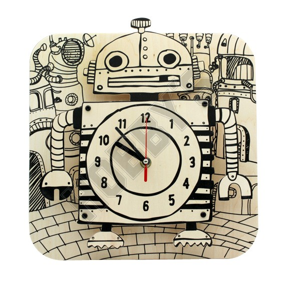 Robot Clock Kit