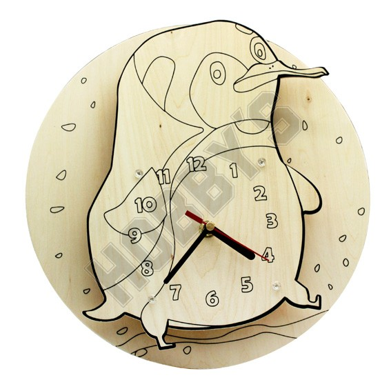 Penguin Clock Kit