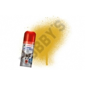 Humbrol Acrylic Hobby Spray Paint - Gold