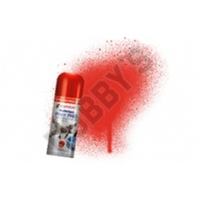 Humbrol Acrylic Hobby Spray Paint - Red Gloss