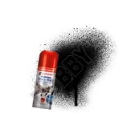 Humbrol Acrylic Hobby Spray Paint - Black Gloss