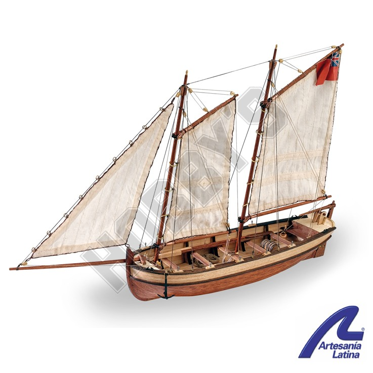 Endeavour's Longboat 1:50