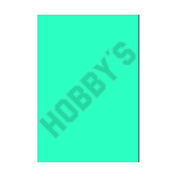Coloured PVC - Aqua