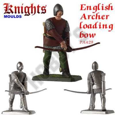 Medieval English Longbowman (Archer) Loading