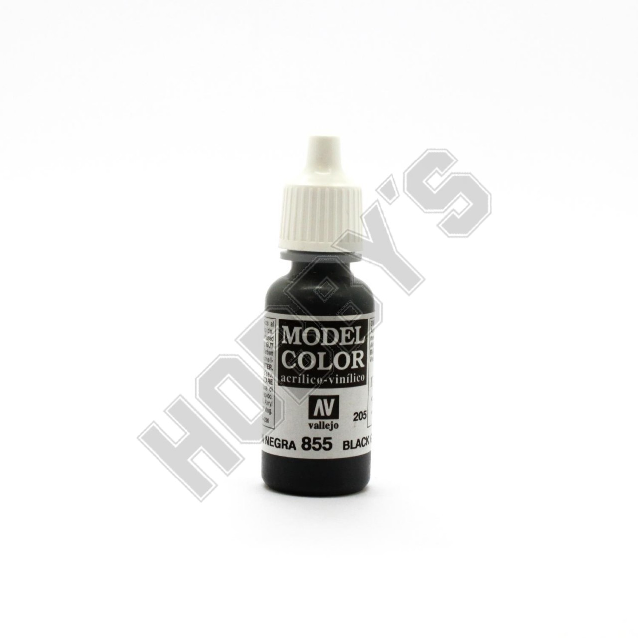 Vallejo-Coal Black 17Ml