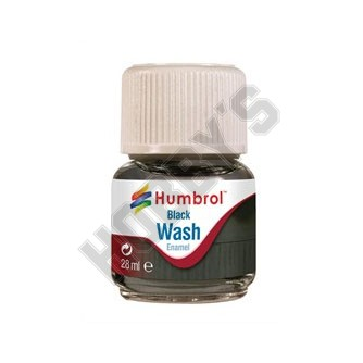 Humbrol Enamel Wash - Black