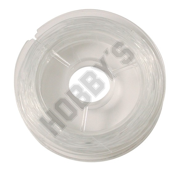Strong clear elastic wire