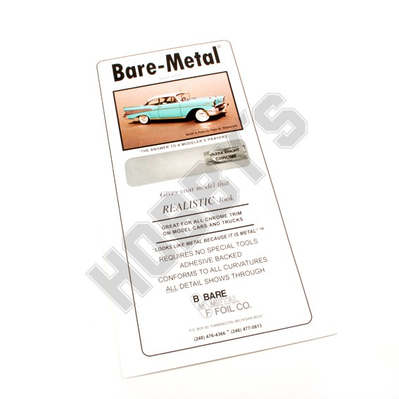 Bare Metal Foil - Chrome Ultra Bright