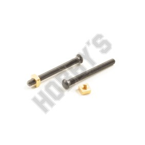 Coachbolts & Nuts 3.8mm
