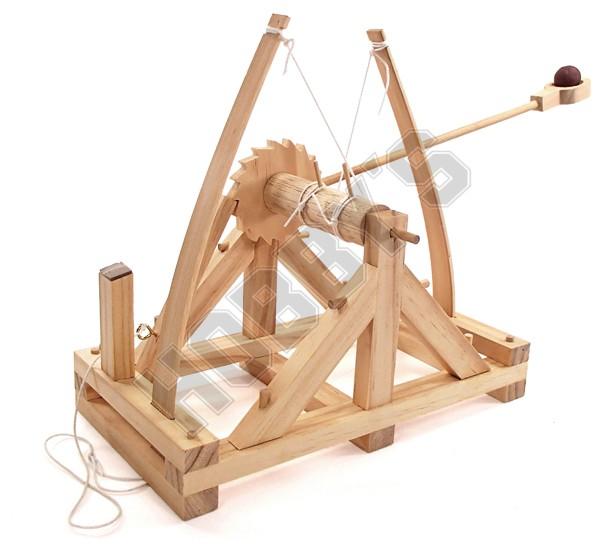 Leonardo Da Vinci Catapult
