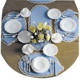 Dinnerware & Silverware Kit