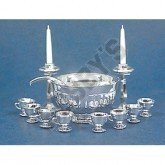Silver Bowl Punch Set