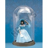 Victorian Lady In Glass Dome