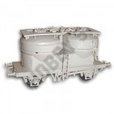 Twin Silo Cement Wagon