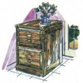 Oak File Cabinet Plan