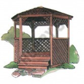 8ft Gazebo Plan