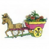 Donkey Cart Planter Plan