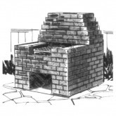 Brick Barbecue Plan