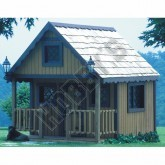 Playhouses & Playhouse Building Kits - Backyard Buildings: Plans