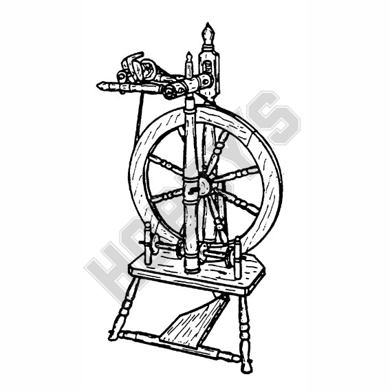 Spinning Wheel Woodworking Plans Upright Spinning Wheel Plan