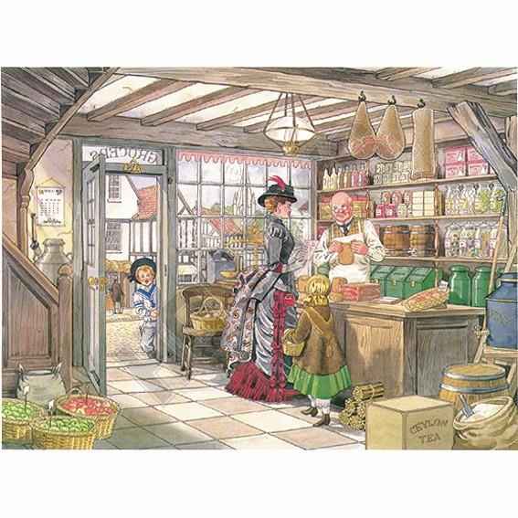 Grocer Shop - Decoupage