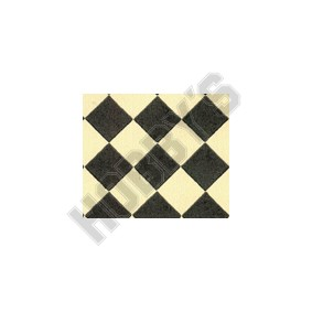 Black/White Harlequin Wallpaper (