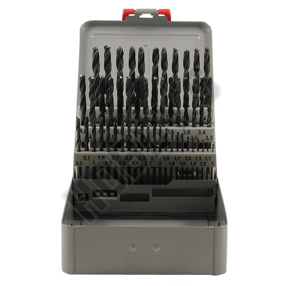 50 Piece HSS Twist Drill Set