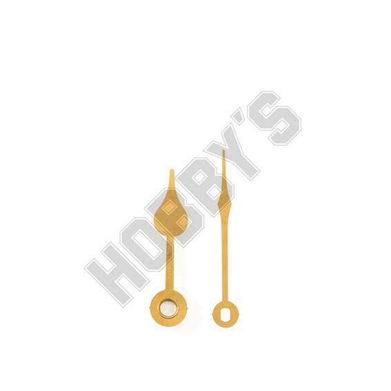 Polished Brass Hands - 42mm