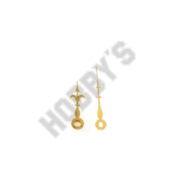 Polished Brass Hands - 34mm