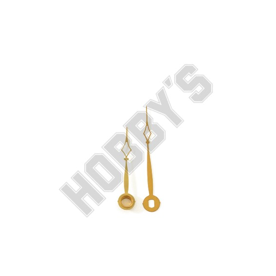 Polished Brass Hands - 50mm