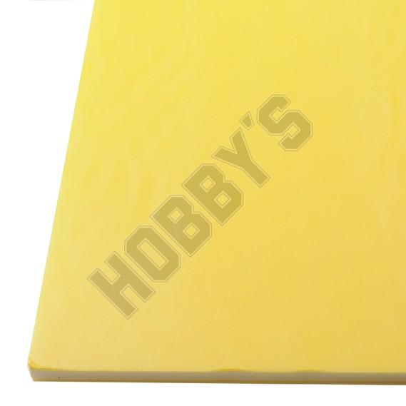 Coloured Foam Board Yellow 3Mm