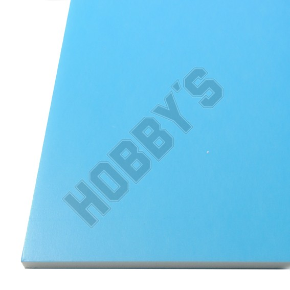 Coloured Foam Board Blue 3Mm