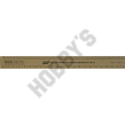 Model Railroad Red. Ruler