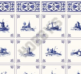 Delft Landscapes Wallpaper