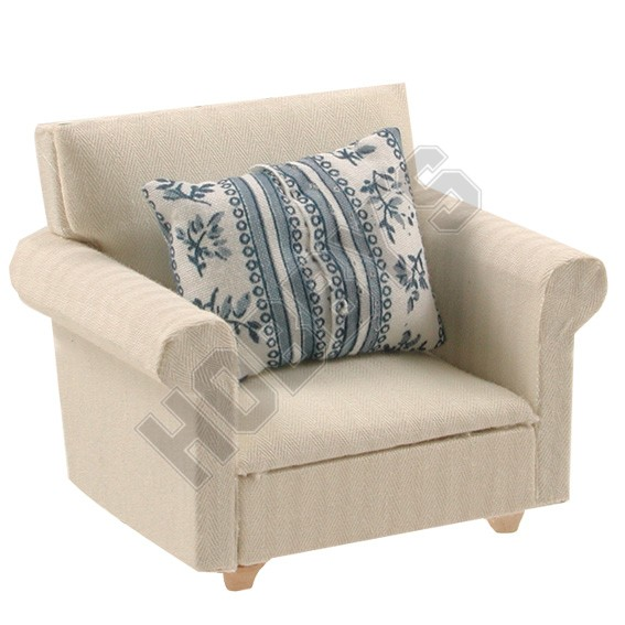 Arm Chair & Cushion