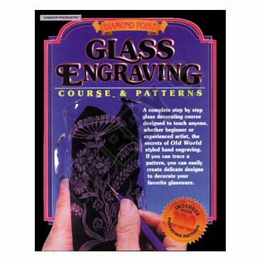 Glass Engraving - Course & Pattern Book
