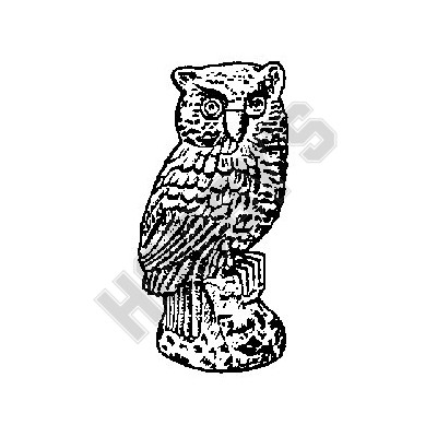 Rubber Mould-Brown Owl