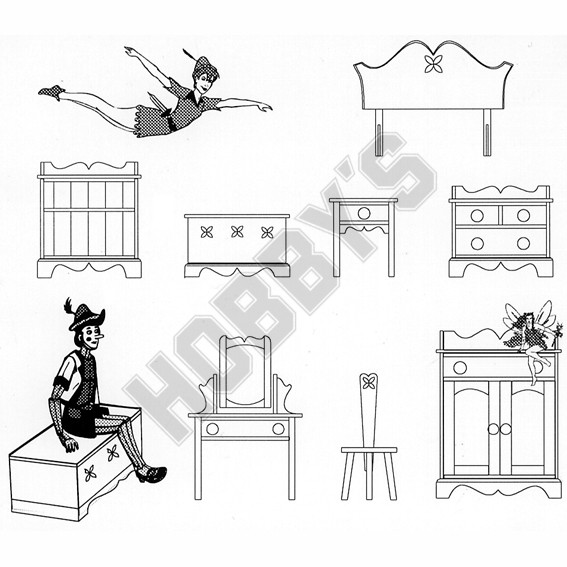 Childrens Nursery Plan Pack