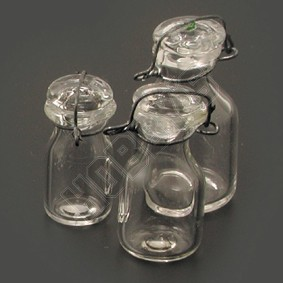 Set Of 3 Preserve Jars