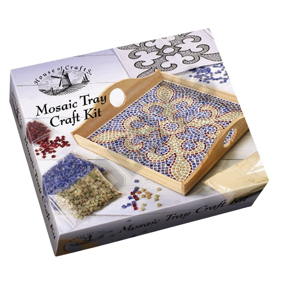 Mosaic Tray Craft Kit