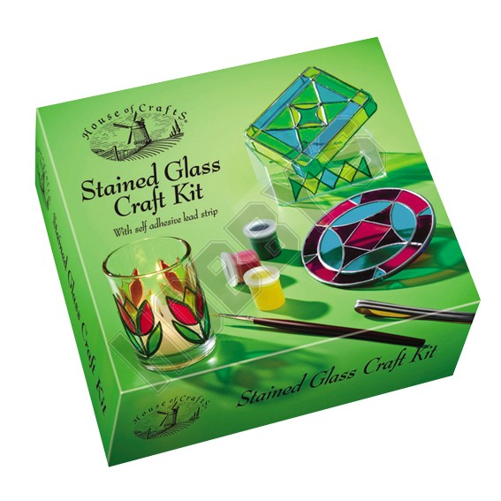 Stained Glass Craft Kit.