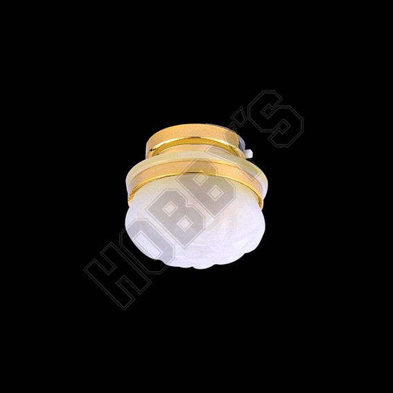 Opaque Round Ceiling Light