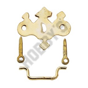 Gold-Plated Chippendale Drawer Pull