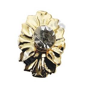 Crystal Medallion Knob