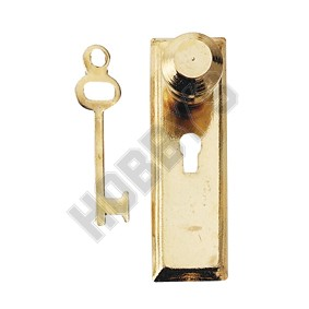 Door Knob and Key Plate